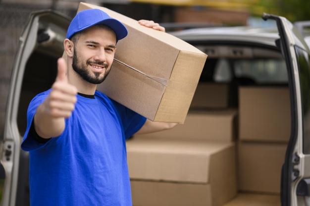 Transport colete de la adresă la adresă